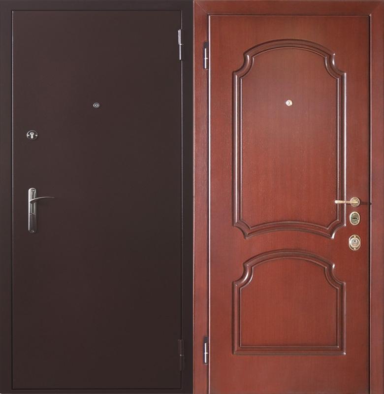 входная порошковая металлическая дверь